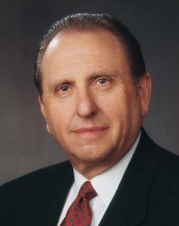 President Thomas S Monson, President of the Church of Jesus Christ of Latter-Day Saints
