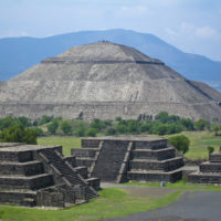 Pyramid of the Sun at Teotihuican