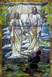 josephs_first_vision_stained_glass