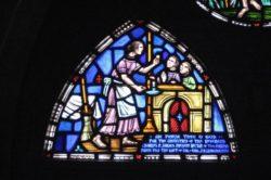 Stained-glass window St. Thomas Episcopal Church, Battle Creek, MI. 1878.