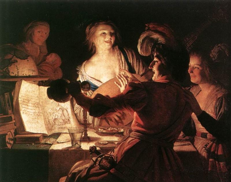 "The Prodigal Son"" Gerrit van Honthorst - 1623"